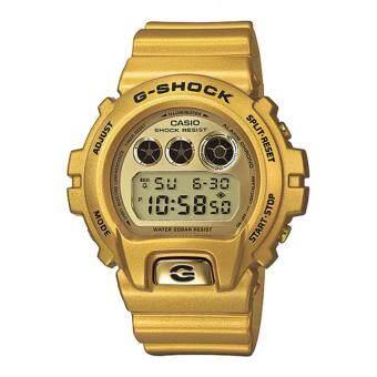 Casio G-Shock Men's Gold Resin Strap Watch DW-6900GD-9