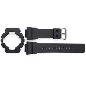 ซื้อ/ขาย Casio G-Shock Mini กรอบและสาย รุ่น GMAS110CM-8A (สีดำ)