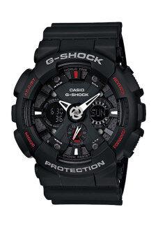 Casio G-Shock นาฬิกาข้อมือผู้ชาย สายเรซิ่น รุ่น GA-120-1A - สีดำ