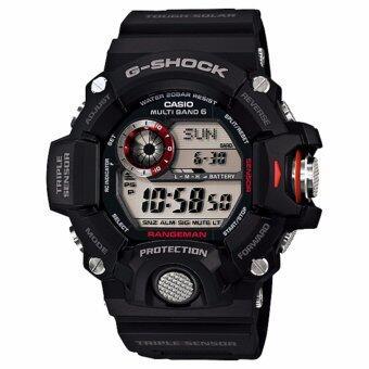 Casio G-Shock Rangeman นาฬิกาผู้ชาย สายเรซิ่นรุ่น GW-9400-1DR - สีดำ