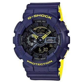 2561 นาฬิกาข้อมือCasio G-Shock Standard ANA-DIGI GA-110LN-2A(Black)