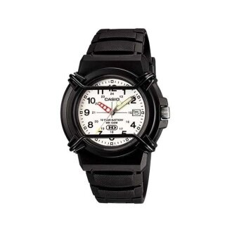 Casio นาฬิกาข้อมือผู้ชาย สีดำ สายเรซิ่น รุ่น HDA-600B-7BVDF