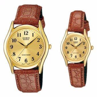 CASIO นาฬิกาคู่ LOVE MTP-1094Q-9B&LTP-1094Q-9B