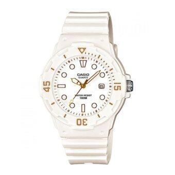 Casio นาฬิกาข้อมือผู้หญิง สายเรซิ่น รุ่น LRW-200H-7E2 - สีขาว ...