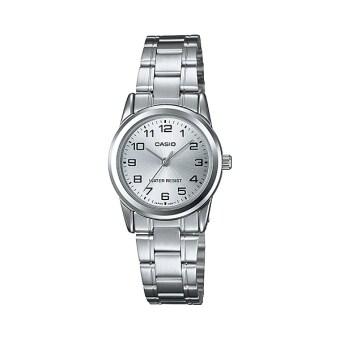 Casio นาฬิกาข้อมือผู้หญิง รุ่น LTP-V001D-7BUDF Silver (สีเงิน)