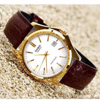 Casio Men's leather Quartz watch MTP-1183E-7A(Brown) - intl