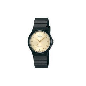 ประเทศไทย นาฬิกาข้อมือสำหรับผู้ชาย Casio สายเรซิ่น สีดำ รุ่น MQ-24-9ELDF