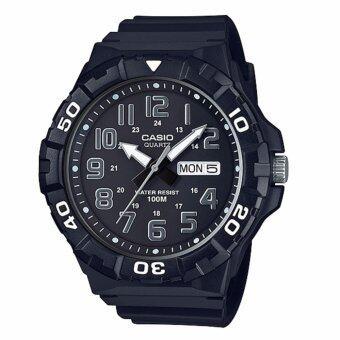 Casio MRW-210H-1AV นาฬิกาข้อมือสำหรับผู้ชาย สายเรซิ่น