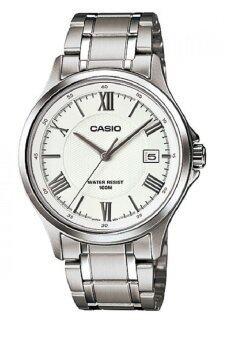 รีวิวพันทิป Casio นาฬิกาข้อมือผู้ชาย สายแสตนเลส รุ่น MTP-1383D-7AVDF - สีเงิน/ขาว