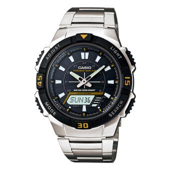 Casio นาฬิกาข้อมือ Analog-Digital รุ่น AQ-S800WD-1EV (Silver/Black)