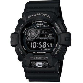 Casio นาฬิกาข้อมือ G-shock Tough Solar รุ่น GR-8900A-1 (สีดำ)