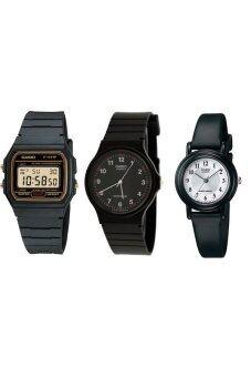Casio นาฬิกาข้อมือ ชุดลดราคาช๊อกโลก Set 2
