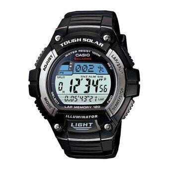 ซื้อ/ขาย Casio นาฬิกา sport gent สีดำ สายเรซิ่น รุ่น W-S220-1AVDF