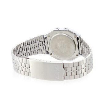 Casio Standard นาฬิกาข้อมือสำหรับผู้หญิง รุ่น A159WA-N1DF (สีเงิน) ดีไหม
