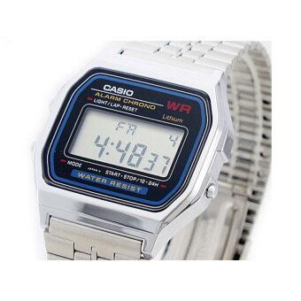 Casio Standard นาฬิกาข้อมือสำหรับผู้หญิง รุ่น A159WA-N1DF (สีเงิน) รีวิว