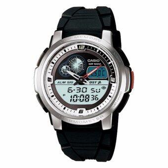 Casio นาฬิกาข้อมือ Standard Active Dail - รุ่น AQF-102W-7BV