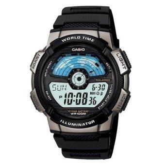 Casio Standard นาฬิกาข้อมือ รุ่น AE1100W-1A (สีดำ)