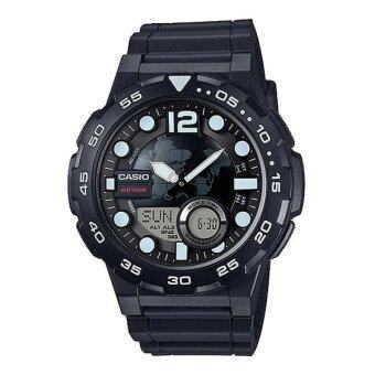 Casio Standard นาฬิกาข้อมือ รุ่น AEQ-100W-1AV