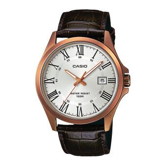 ประเทศไทย Casio Standard นาฬิกาข้อมือ Gent quartz รุ่น MTP-1376RL-7B