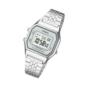 Casio Standard นาฬิกาข้อมือสำหรับผู้หญิง รุ่น LA680WA-7DF (สีเงิน) รีวิว