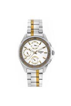 CASIO Standard นาฬิกาข้อมือผู้หญิง สายสแตนเลส รุ่น LTP-2086SG-7AVDF - Silver
