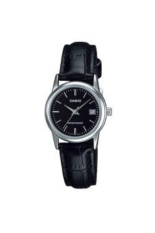 Casio Standard นาฬิกาข้อมือ สายหนัง รุ่น LTP-V002L-1AUDF - สีดำ