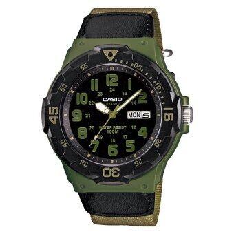 Casio นาฬิกาข้อมือ Standard Men รุ่น MRW-200HB-3BV (Green)