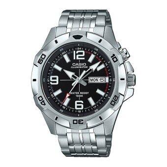 Casio Standard Men นาฬิกาข้อมือผู้ชาย สายแสตนเลส รุ่น MTD-1082D-1A