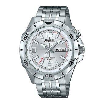 Casio Standard Men นาฬิกาข้อมือผู้ชาย สายแสตนเลส รุ่น MTD-1082D-7A