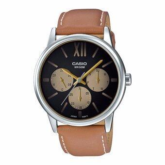 ซื้อ/ขาย นาฬิกาข้อมือ Casio Standard men สายหนัง รุ่น MTP-E312L-5BV