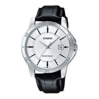 2561 CASIO STANDARD นาฬิกาผู้ชาย สายหนัง รุ่น MTP-V004L-7A