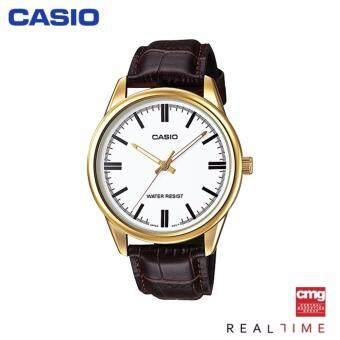 เสนอราคา Casio Standard นาฬิกา MTP-V005GL-7AUDF ประกันศูนย์ CMG (White/Gold)