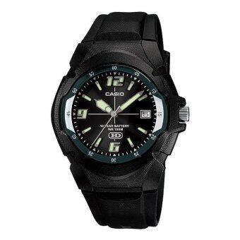 Casio Standard นาฬิกาข้อมือ รุ่น MW-600F-1A (Black)