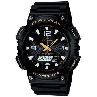 Casio Standard นาฬิกาข้อมือ สีดำ รุ่น AQ-S810W-1BVDF