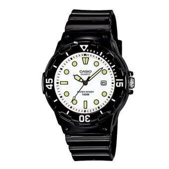 CASIO standard sport Lady นาฬิการข้อมือ รุ่น LRW-200H-7E1VDF - Black/White