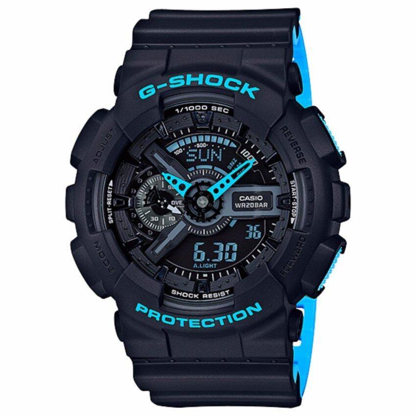 Casioนาฬิกาข้อมือG-Shock Standard ANA-DIGI GA-110LN-1A(Black) บริการส่งทุกจังหวัด