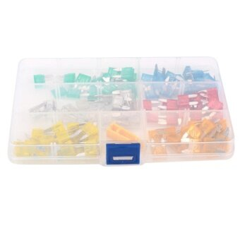 ซื้อ Cattree 120pc MINI Blade Fuse Holder Assortment Auto Car MotorcycleSUV FUSES Kit APM - intl