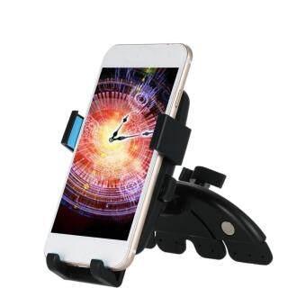 ที่วางโทรศัพท์ในรถ CD-Slot Car Mount มาพร้อมครีบยึดช่องซีดี +หัวจับแบบใหม่ (blue)