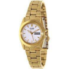 Citizen นาฬิกาข้อมือ รุ่น EQ0562-54A- Gold