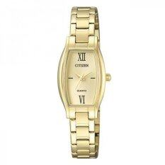 CITIZEN Women's Quartz Stainless Steel รุ่น EJ6112-52P - Gold