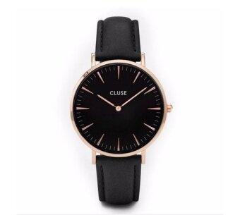 Cluse Women's Simple Designed Elegant Fashion Quartz Leather Strap Watch - intl