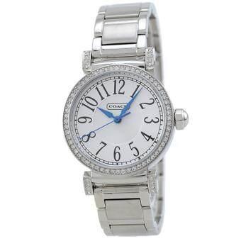 ราคา Coach Madison Watch 14501723 Silver Women(Black)