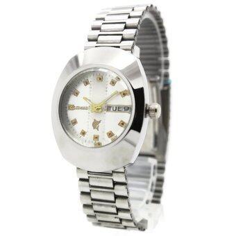 ราคา CONAVIN นาฬิกาข้อมือผู้ชาย สายสแตนเลส เรือนเหล็ก วันที่ สัปดาร์ รุ่น RAM-251