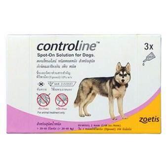 รีวิวพันทิป controline สุนัขน้ำหนัก 20-40 กิโลกรัม