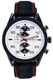 ซื้อ/ขาย Curren นาฬิกาข้อมือสุภาพบุรุษ สีดำ สายหนัง รุ่น8156