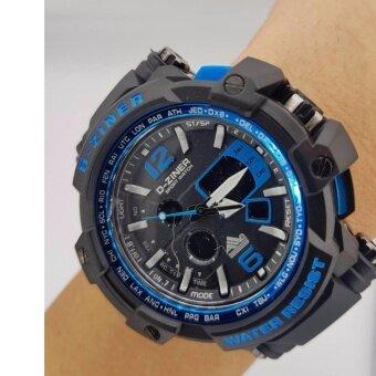 ราคา D-ZINER นาฬิกาทรงสปอร์ต รุ่น DZ8090