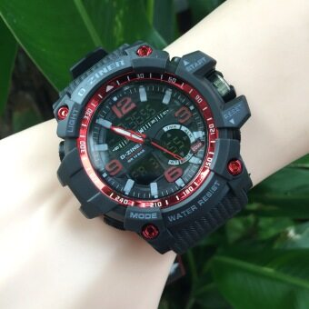 ประเทศไทย D-ZINER นาฬิกาข้อมือ รุ่น DZ8143 สีแดง