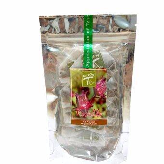 DAZZLING-T ชาสมุนไพร กระเจี๊ยบแดง (Roselle Herbal Tea) 12x2 g.Tea Bags