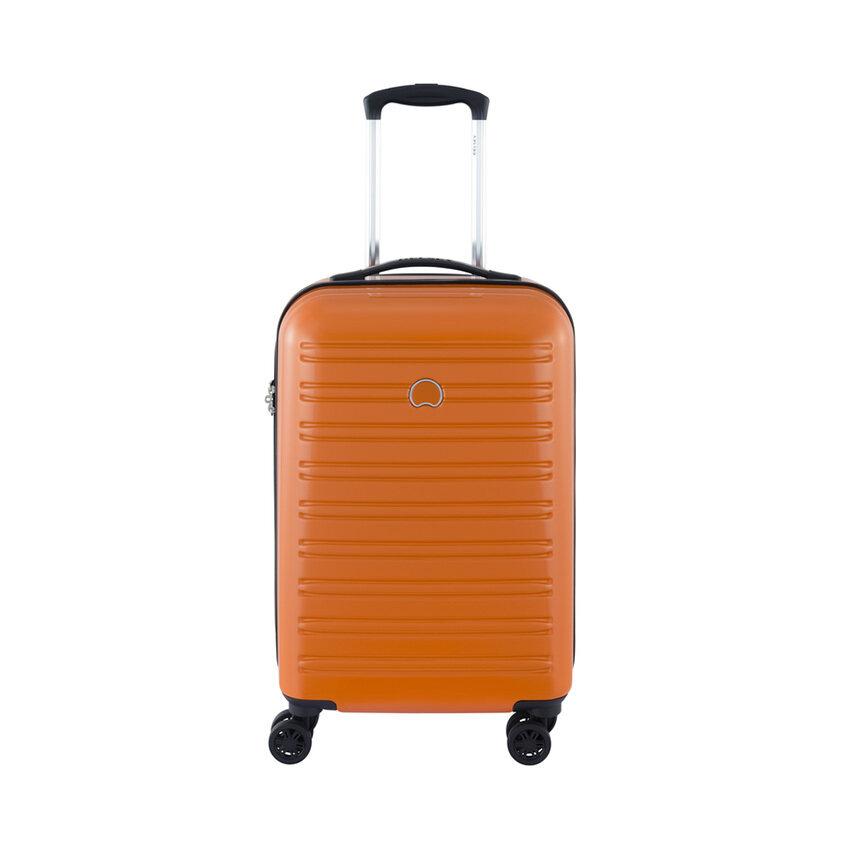 DELSEY กระเป๋าเดินทางแบบล้อลาก รุ่น SEGUR ขนาด 21 นิ้ว (สีส้ม)
