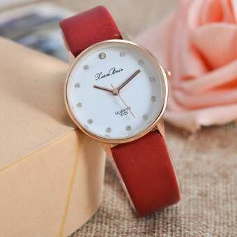 เปรียบเทียบราคา นาฬิกาแฟชั่นผู้หญิงแบบง่าย ๆ จาก Diamond Dial นาฬิกาข้อมือควอตซ์ Golden Quartz